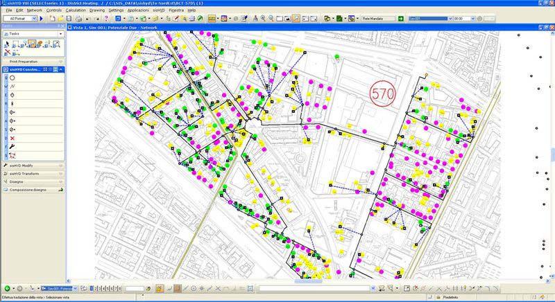 Приложение за моделиране, управление и поддръжка на мрежи за доставка на комунални услуги