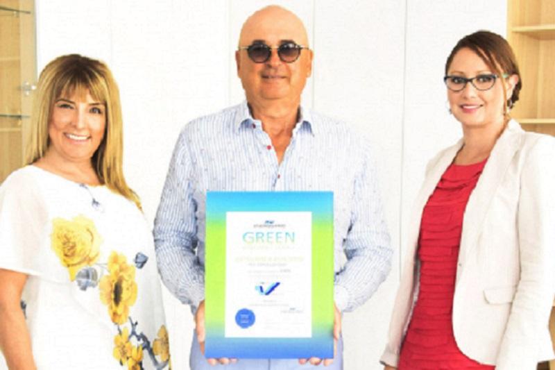 Варненската фабрика Чайка получи сертификат за зелена енергия от <strong>Енерго</strong>-<strong>Про</strong>