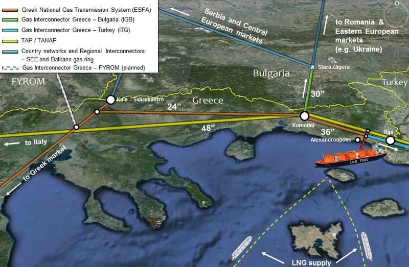 Стартира проект за нов терминал зa втечнен природен газ в Гърция